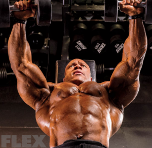 phil-heath-dumbbell-chest-press